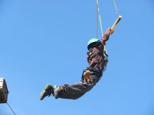 Flying the Trapeze